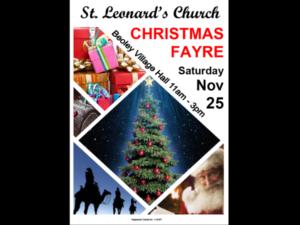Christmas Fayre 2017
