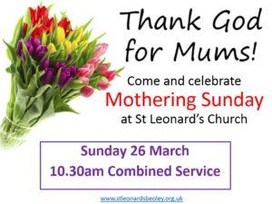 Sunday 26 March